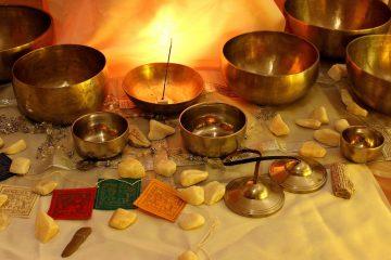 Tibeti Hangmasszázs